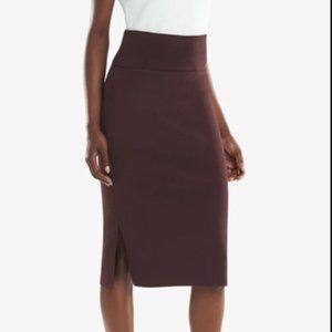 MM Lafleur Harlem skirt Bordeaux +1 EUC